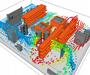 Heat-sinking analysis electronics boards